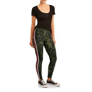 Super Soft Women's Army Green Leggings/Yoga Pants